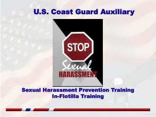Sexual Harassment Prevention Training In-Flotilla Training