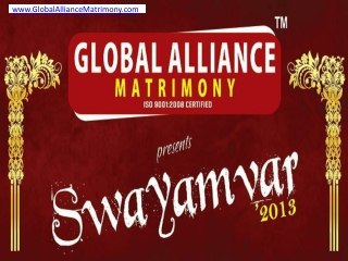 Swayamvar 2013 - Find Best Matrimonial in Delhi