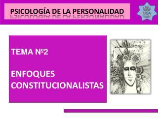 ENFOQUES CONSTITUCIONALISTAS