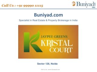 Jaypee Kristal Court - Sector 128, Noida @ 9999011115