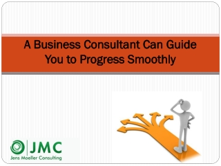 A Business Consultant Can Guide You to Progress Smoothly