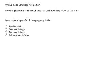 child language development introduction