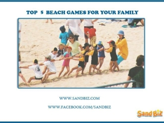 Sand Games for Kids | Play beach party games | SandBiz Games