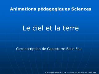 Animations p dagogiques Sciences