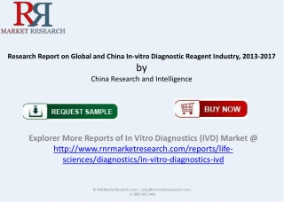 Global and China In vitro Diagnostic Reagent Market 2017