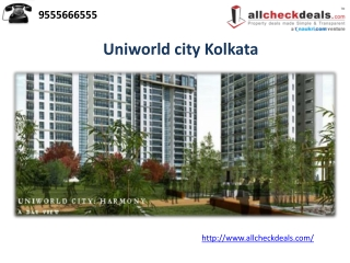 Uniworld city Kolkata