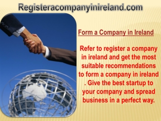 Form a Company in Ireland