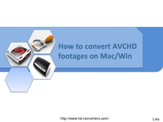 How to convert AVCHD videos for editing and playback on Mac