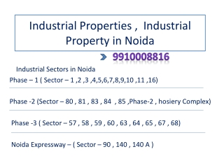 800 sq meter Industrial Building  in Sector 11 Noida