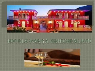 Hotels Parga Griechenland