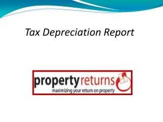 Property Depreciation Service Provider, Sydney