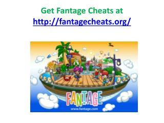 fantage cheats