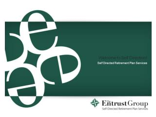 Entrust Georgia Self-Directed Retirement Plan Services