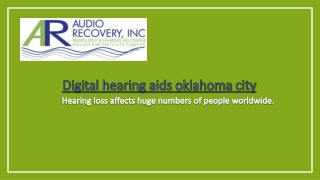 Hearing loss affects huge numbers of people worldwide
