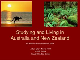 Studying and Living in Australia and New Zealand
