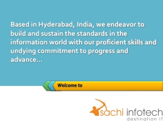 Sachi Infotech - Website Designing and Development Services