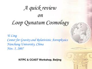 A quick review  on  Loop Qunatum Cosmology