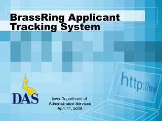 BrassRing Applicant Tracking System