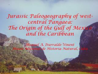Jurassic paleogeography of west-central Pangaea: Implications for ...