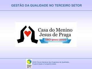 GEST O DA QUALIDADE NO TERCEIRO SETOR