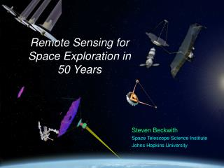 Remote Sensing for Space Exploration in 50 Years