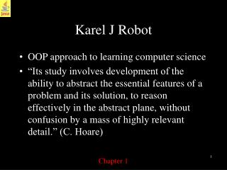 Karel J Robot