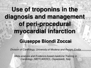 Use of troponins in the diagnosis and management of peri-procedural myocardial infarction