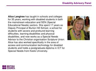 Disability Advisory Panel