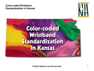 Color-coded Wristband Standardization in Kansas