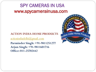 Spy Camera in Usa