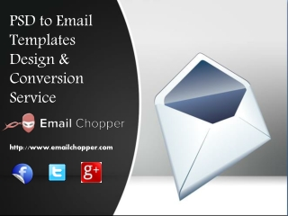 Email Chopper - PSD to Email Template Conversion Company
