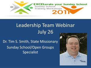 Leadership Team Webinar July 26