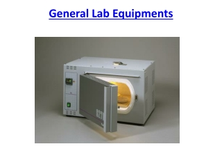 General Lab Equipments