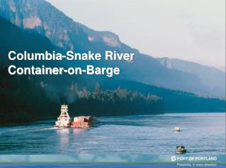 Columbia-Snake River Container-on-Barge