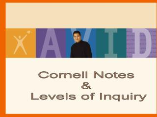 Cornell Notes    Levels of Inquiry