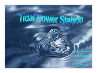Tidal Power Station