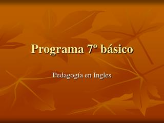 Programa 7  b sico