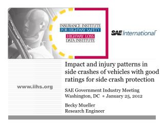 Impact and injury patterns in side crashes of vehicles with good ratings for side crash protection