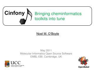 Bringing cheminformatics toolkits into tune
