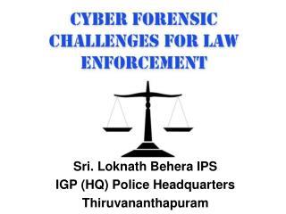 Sri. Loknath Behera IPS IGP HQ Police Headquarters Thiruvananthapuram