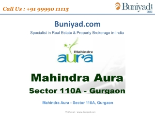 Mahindra Aura Offers 3 and 4 bhk apartments