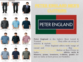 Shop Peter England Shirt in stores near you