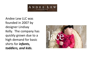 All about Andee Lew Clothing