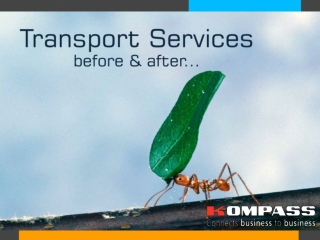 Transport services Before and After