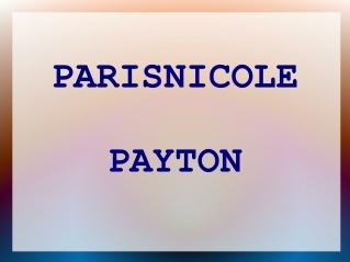 Parisnicole Payton