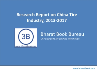 Research Report on China Tire Industry, 2013-2017