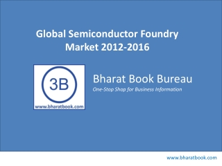 Global Semiconductor Foundry Market 2012-2016
