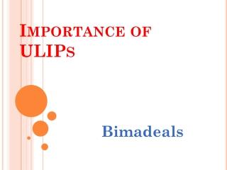 ULIP Plans - Bimadeals