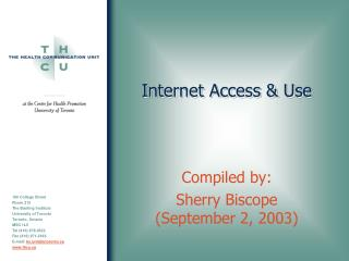 Internet Access  Use