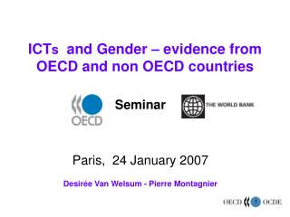 ICTs  and Gender   evidence from OECD and non OECD countries